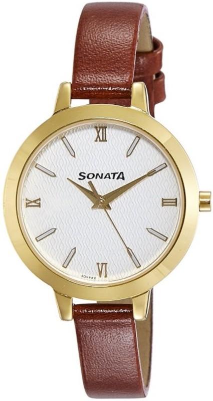 Sonata Patterned Women's Watch image