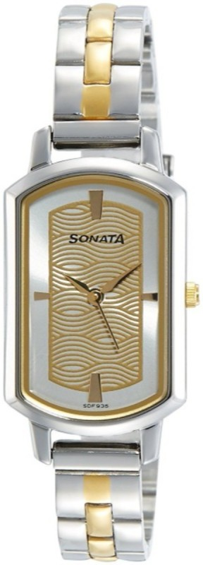 Sonata Patterned Men's Watch image