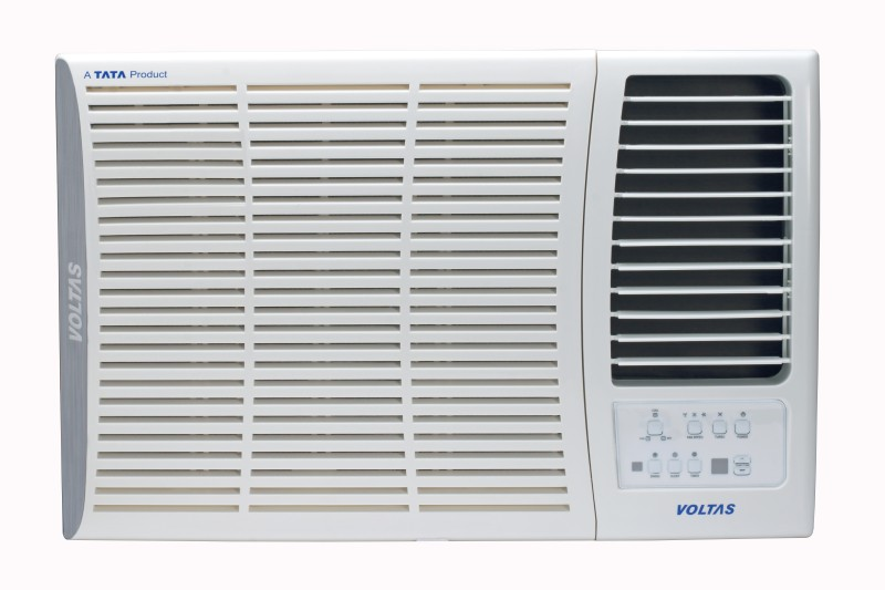 Voltas 1 Ton 5 Star Window AC - White(125DZA, Copper Condenser)
