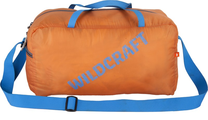 Wildcraft Pac n Go Duffle 18 Travel Duffel Bag(Orange)