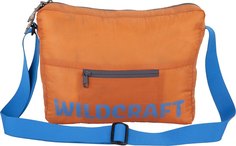 Wildcraft Pac n Go Sling 2 Travel Duffel Bag(Orange)