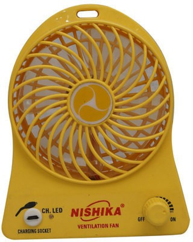 KADA A 009 FAN 3 Blade Table Fan(YELLOW)