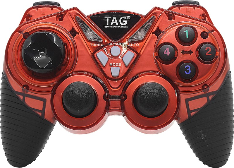 TAG G20  Gamepad(Red, For PC)
