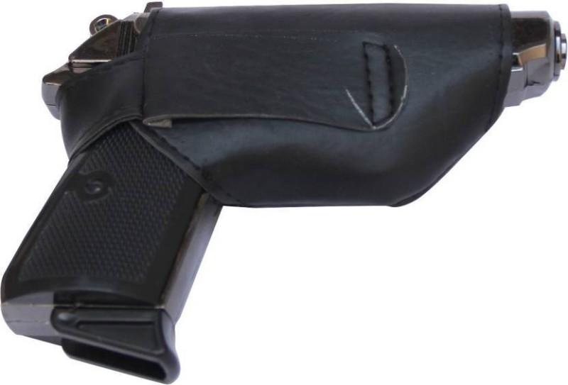 DYNAMIC MART Heavy Basic MOuser Gun Steel Gas Lighter(Black, Pack of 1)