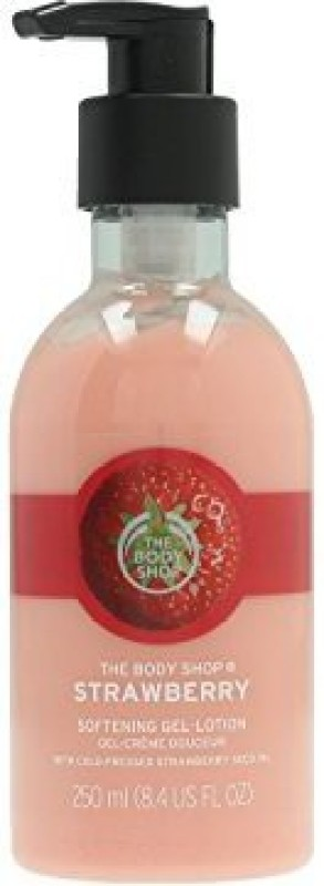 The Body Shop Strawberry softening gel lotion