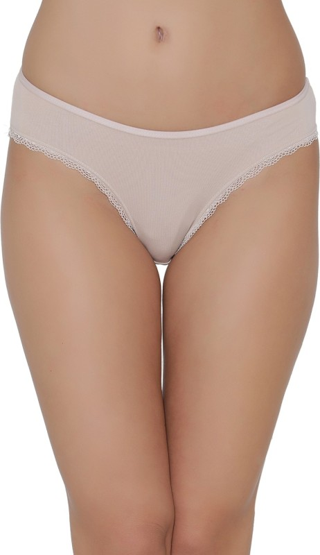 Clovia Womens Bikini, Brief Beige Panty(Pack of 1)