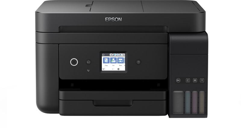 Epson L6190 Multi-function Wireless Printer(Black, Refillable Ink Tank) image
