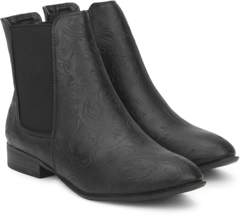 Allen Solly Boots For Women(Black)