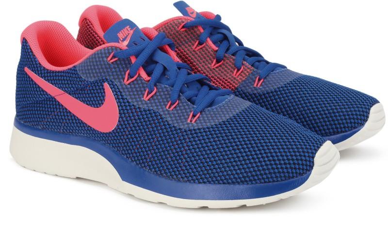 Nike TANJUN RACER Running Shoe For Men(Blue, Pink)