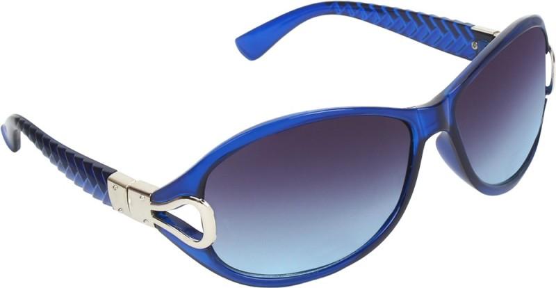 Zyaden Oval Sunglasses(Black)