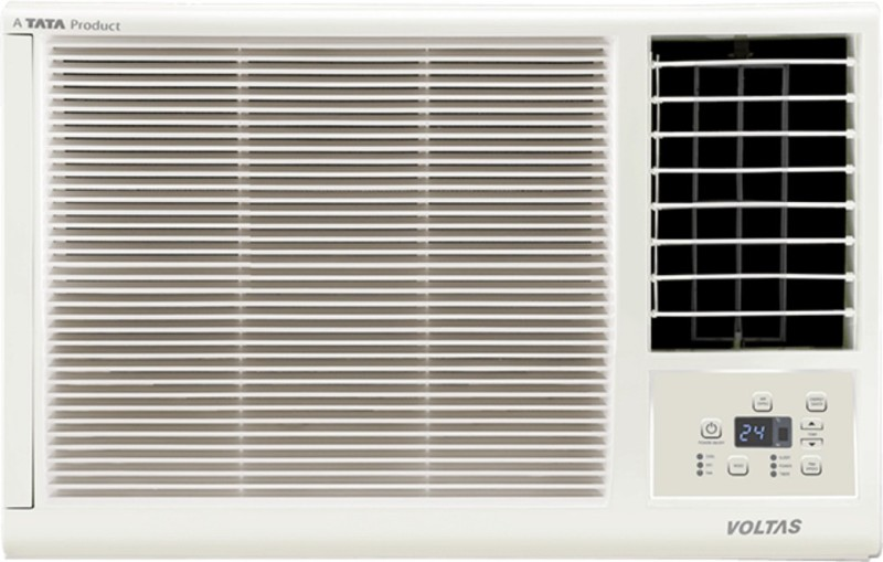 Voltas 1.0 Ton 3 Star Window AC - White(123LZF, Copper Condenser)