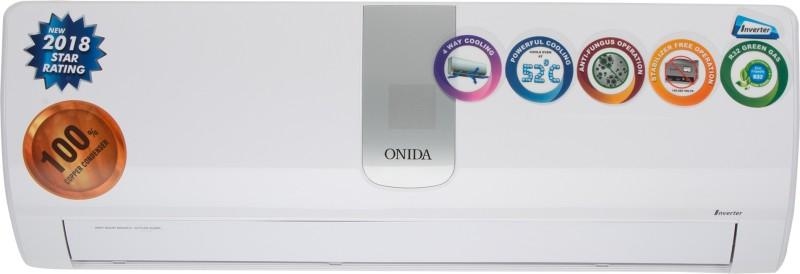 Onida 1 Ton 5 Star BEE Rating 2018 Inverter AC - White(IR125ONX, Copper Condenser)