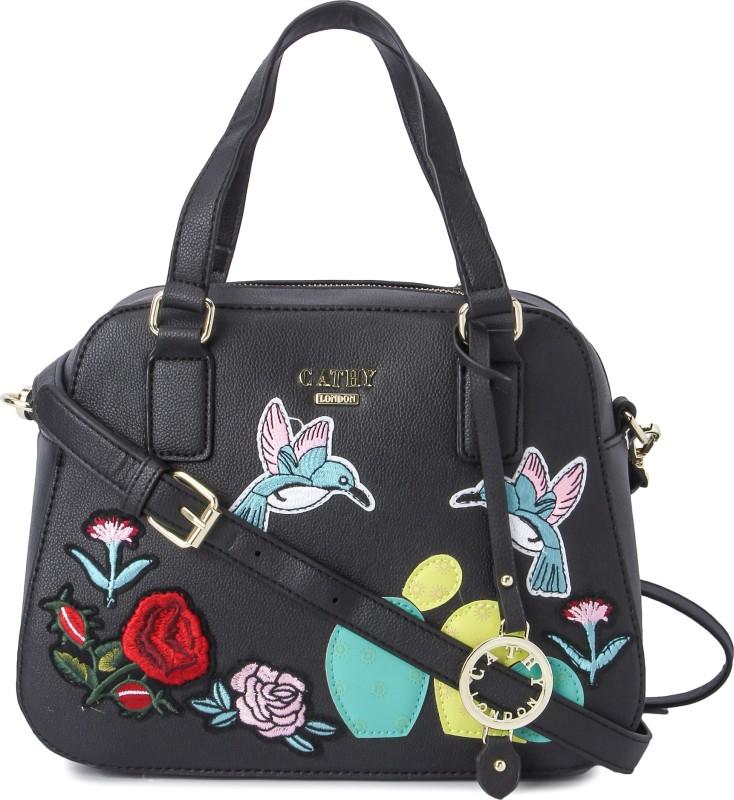 Cathy London Hand-held Bag(Black)