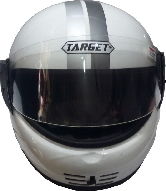 TARGET YUVA-White-1105 Motorbike Helmet(White)