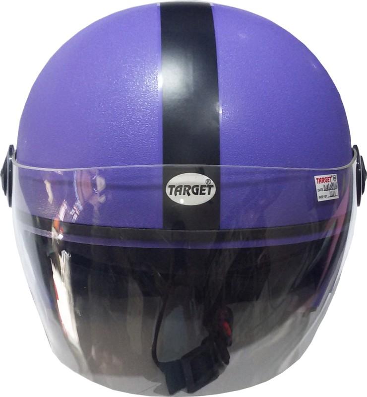 TARGET RDRS-CHCE-1107 Motorbike Helmet(Purpal)