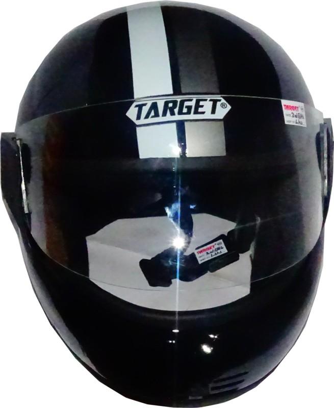 TARGET YUVA-BLCK-1104 Motorbike Helmet(Black)