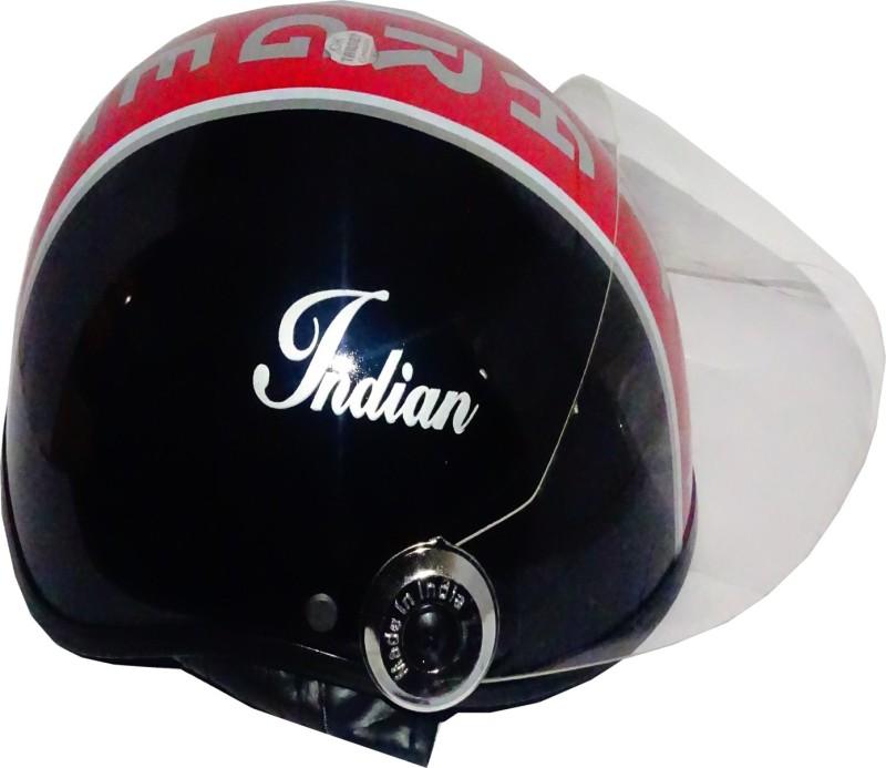 TARGET HLF-1109 Motorbike Helmet(Black)
