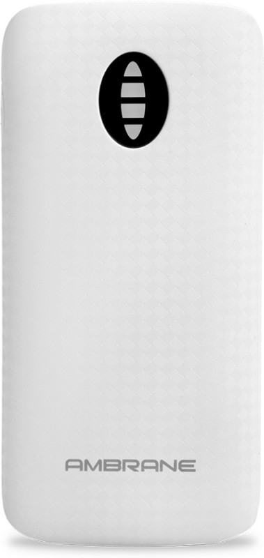 Ambrane 4000 Power Bank (P-4000)(White, Lithium-ion)