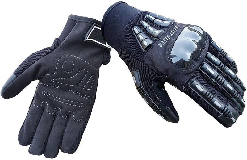 biking brotherhood Riding Gloves Black Riding Gloves (M, Black)