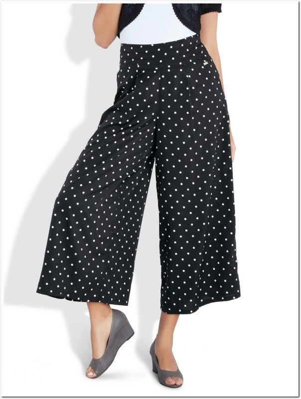 Park Avenue Regular Fit Women Black Trousers