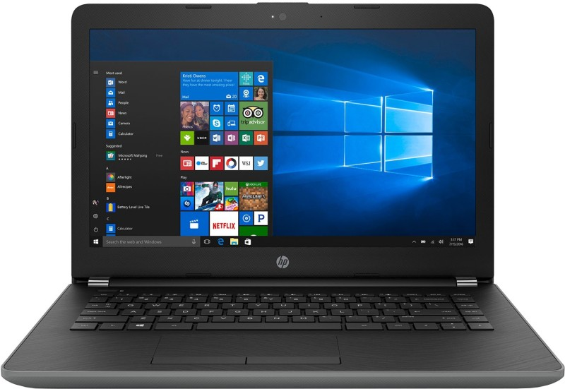 HP 14 Core i3 6th Gen - (4 GB/1 TB HDD/Windows 10 Home) 14-BS701TU Laptop(14 inch, SMoke Grey, 1.86 kg) image