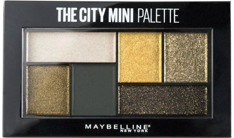 Maybelline City Mini Palette Eye Shadows 6.1 g(Urban Jungle)