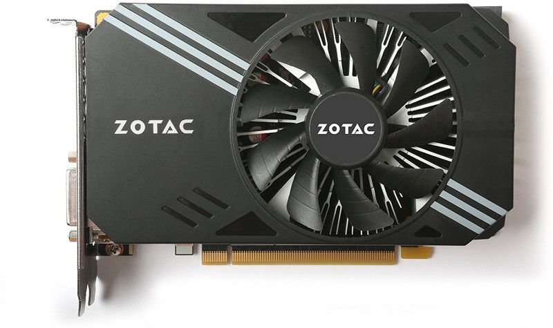 ZOTAC NVIDIA ZT-P10600A-10L 6 GB GDDR5 Graphics Card(Black) image