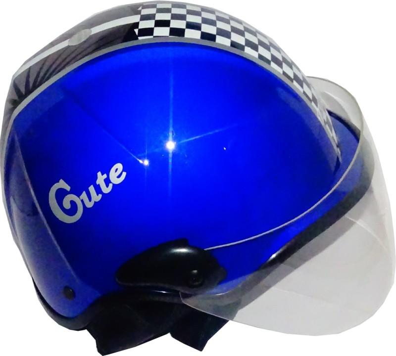 TARGET CUTE-HLF-1111 Motorbike Helmet(Blue)