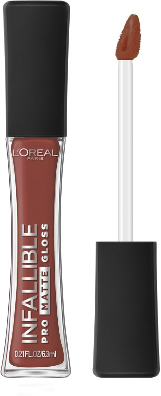 LOreal Paris Infallible Pro Matte Gloss(6.3 ml, Statement Nude)