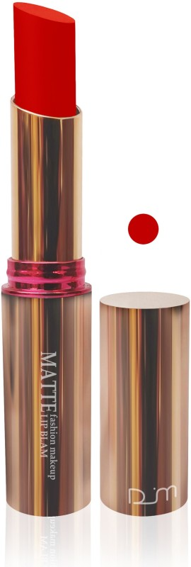 FEMINA09 cosmetics makeup velvet matte lipstick lady hot red color fashion collection set 0f 1(Red, 5 g)