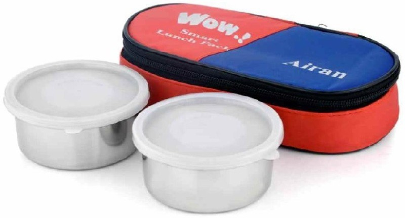 Airan SMART 2 container lunch 2 Containers Lunch Box(600 ml)