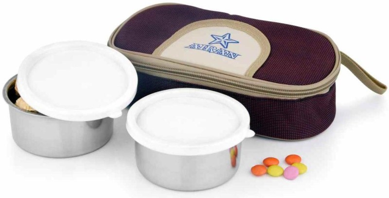 Airan STAR LUNCH PACK 2 Containers Lunch Box(600 ml)