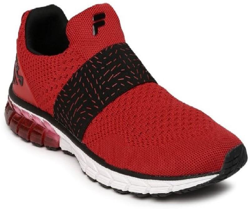 Fila Walking Shoes For Men(Red, Black)