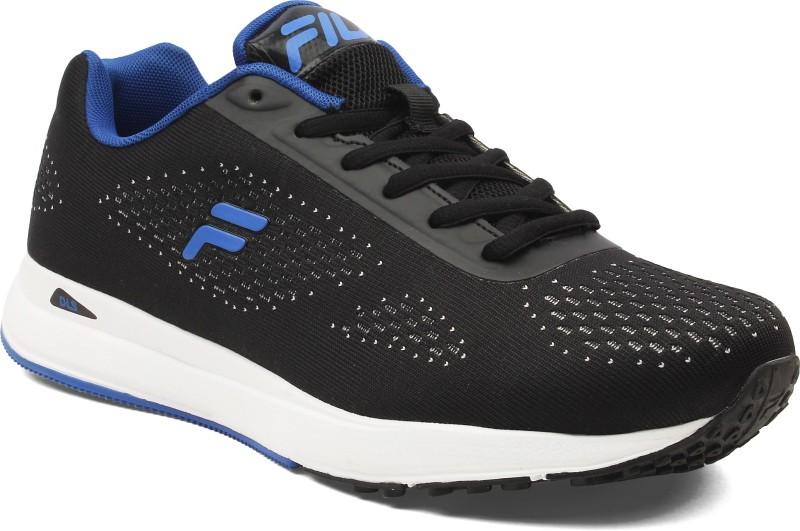 Fila Walking Shoes For Men(Black)