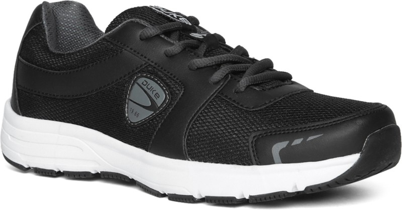 Duke Walking Shoes For Men(Black)