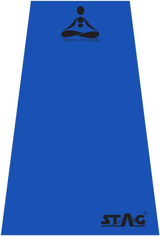 Stag Yoga Mantra Blue 6 mm Yoga, Gymnastic, Exercise & Gym Mat