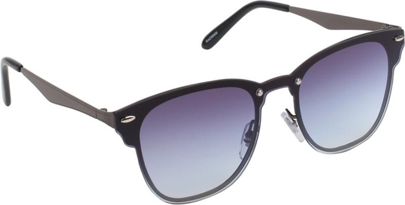 Hob Epic Ink Round Sunglasses(Blue) image
