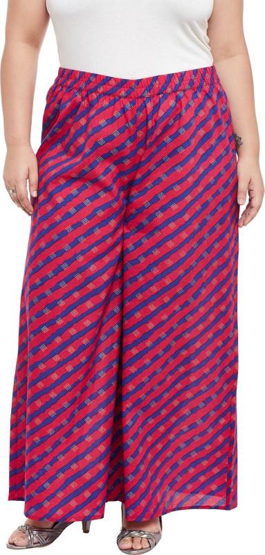TALINUM Slim Fit Women Pink Trousers