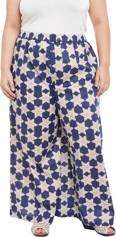 TALINUM Slim Fit Women Cream Trousers