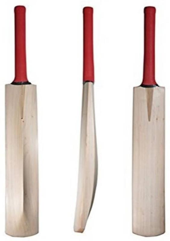 Azone Plain Full Size Poplar Willow Cricket Bat(Short Handle, 1-1.2 kg)