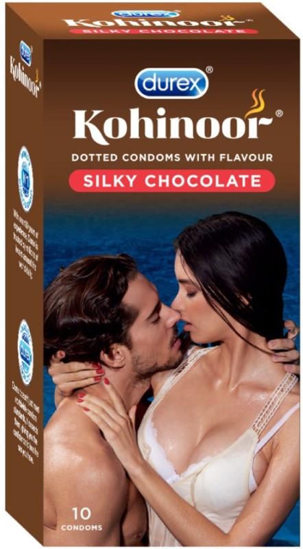 Durex Kohinoor Silky Chocolate Condom(10S)