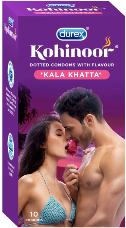 Durex Kohinoor Kala Khatta Condom(10S)