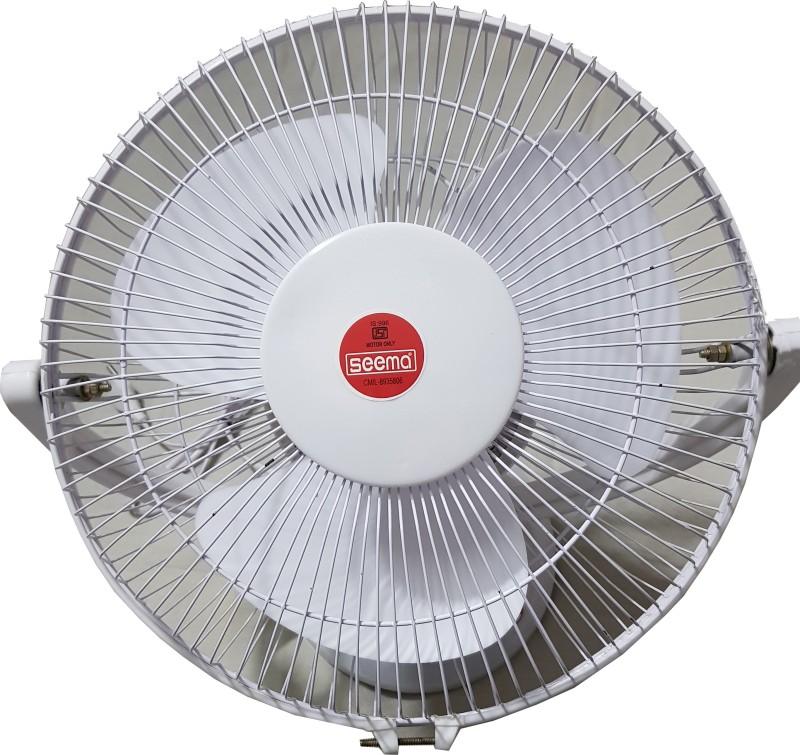 Seema StormyFan-Yellow 3 Blade Table Fan(White)