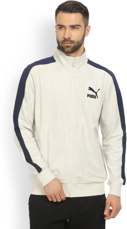 Puma Full Sleeve Solid Mens Sports Jacket