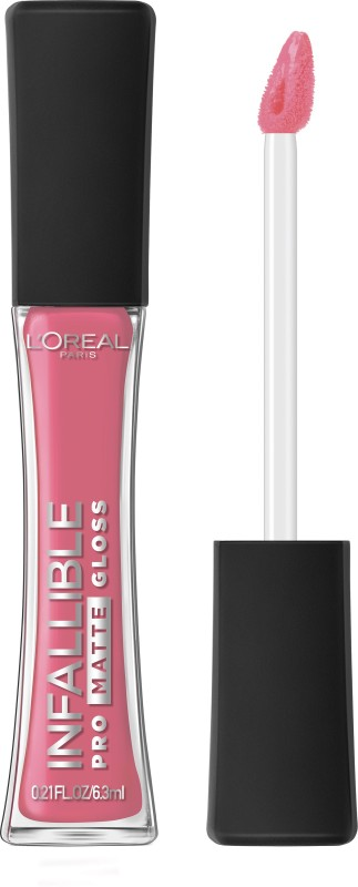 LOreal Paris Infallible Pro Matte Gloss(6.3 ml, Blushing Ambition)