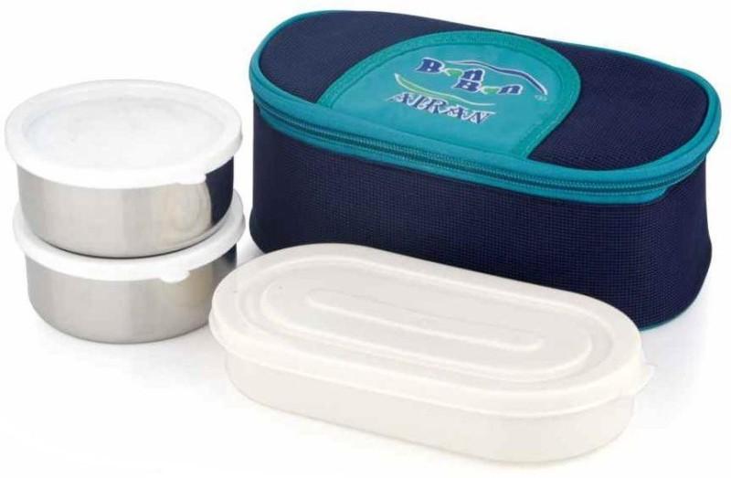 Airan BON BON 3 Containers Lunch Box(900 ml)