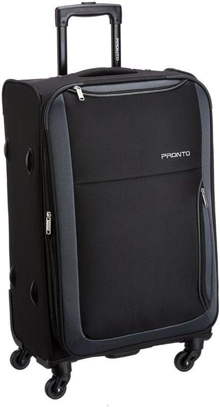 Pronto PARIS Expandable Check-in Luggage - 24 inch(Black)