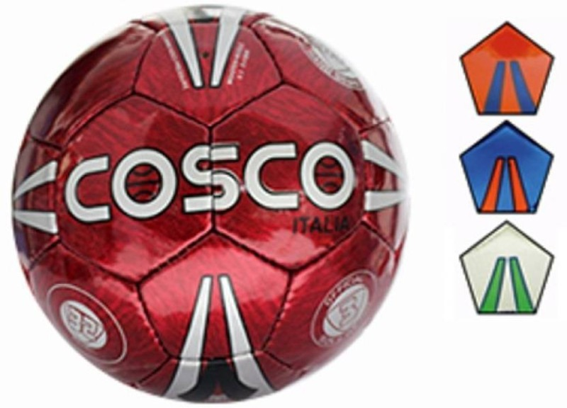 Cosco Italia Football - Size: 3(Pack of 1, Multicolor)