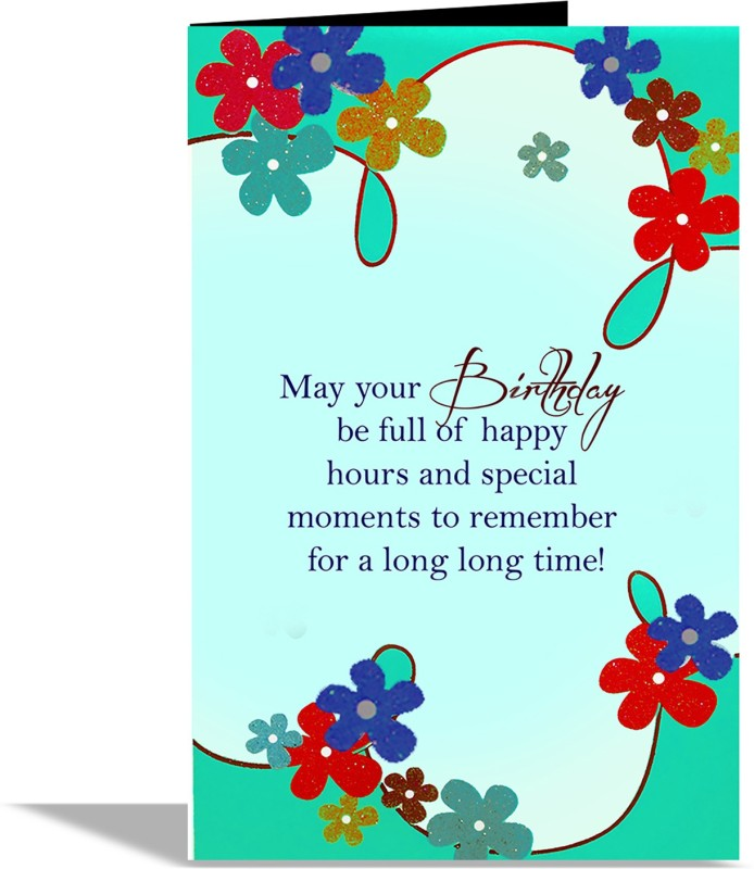 alwaysgift May Your Birthady Greeting Card Greeting Card(Multicolor, Pack of 1)