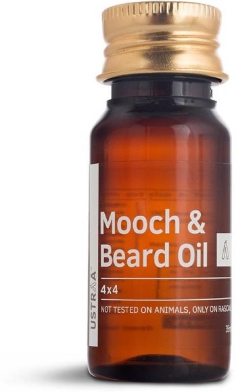 Ustraa Mooch and Beard Oil 4X4 Oil (35 ml) Hair Oil(35 g)